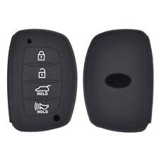 4 Button Silicone Car Key Cover Case For Hyundai Elantra Sonata Tucson i40
