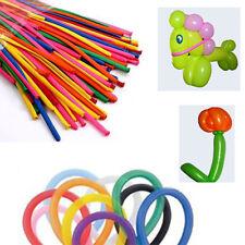 100 Palloncini Modellabili Feste Bambini Compleanno Colorati Divertimento 195