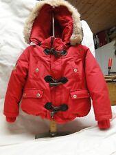 Polo Ralph Lauren Daunen Jacke Kinder rot mit Kapuze 4T ,wie neu
