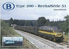 Nicolascollection 978-2-930748-39-9 libro SNCB NMBS Type 200-Reeks/Série 51 NUOVO + OVP