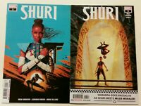 Marvel Shuri #1 and #6 NM UNREAD 2018 2019 Comic Black Panther Sister 1 6 9.4+