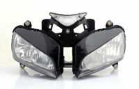 Gruppo ottico faro fanale anteriore Per Honda CBR 1000RR CBR1000RR 04-07 Chiaro
