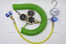 AC AIR CONDITIONING R134A NITROGEN NITRO PRESSURE LEAK TEST KIT