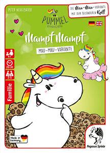 Pummeleinhorn: Mampf Mampf (Mau-Mau-Variante) (18204G), Pegasus Spiele, NEU