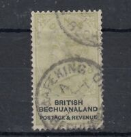 Bechuanaland QV 1888 2/- Green Black SG16 VFU Mafeking CDS J9658
