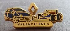 RARE PIN'S VALENCIENNES RENAULT TWINGO F1 WILLIAMS CANON ZAMAC DECAT PARIS