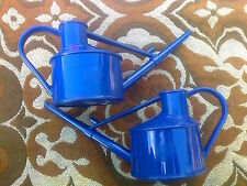 New Haws plastic watering cans 700ml each in Royal Blue