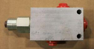 New VDS/3/AP-38/TV.S Oleostar Hydraulic Sequence Valve