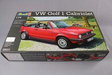 ZC137 Revell 07071 Maquette Voiture 1/24 Volkswagen VW Golf 1 Cabriolet 154 mm