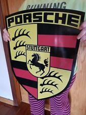 Porsche sign Germany STUTTGART DEALERSHIP SERVICE SALES DISPLAY vintage style