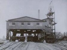 Tipple, Bituminous Coal Mine,Magic Lantern Glass Slide, Jeffrey Manufacturing Co