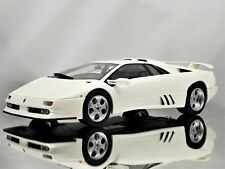 GT Spirit / Kyosho Lamborghini Diablo Jota SE30 White Resin Model Car 1:18
