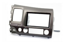 Carav 11-063 cover fascia panel facia plate for Honda Civic Sedan Double Din
