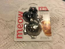 Joie MEOW Black Cat Tea Cup Infuser New BPA FREE 18/8 STAINLESS STEEL