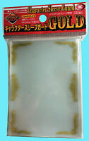 60 KMC OVER SIZED CHARACTER GUARD GOLD SCROLL Sleeves Standard Size 69 x 94 mm