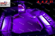 Boat Interior Inside Lighting LED Kit Full Color Changing Glow Neon Strips 4pcs