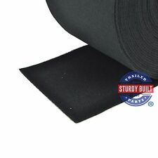 "Boat Trailer Running Board Carpet 12"" Wide Black Marine Grade Bunk Board Carpet"