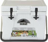 Nash SZ22O 23 Quart White Cooler for Camping, Hiking, Fishing & Swimming Pools