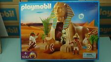 Playmobil 4242 Sphinx with Mummy mint in Box Egyptian series Geobra toy