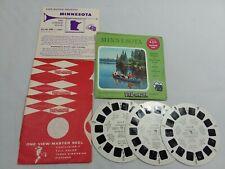 View-Master A510, Minnesota, Vacationland Series, 3 Reel Set