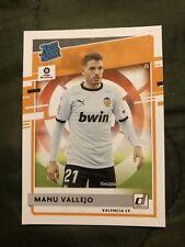 Manu Vallejo donruss rated rookie 2021 Valencia CF #4