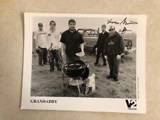 GRANDADDY—2003 PRESS KIT PHOTO Signed Autographed