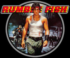 80's Teen Angst Cult Classic Rumble Fish Poster Art custom tee AnySize AnyColor