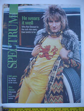 Used Spectrum magazine 7th October 2012-Rod Stewart cover. Amy Adams.