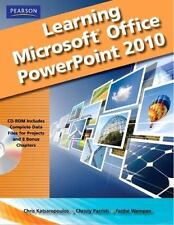 LEARNING MICROSOFT OFFICE POWERPOINT 2010, STUDENT EDITION By Katherine Murray