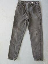 Vintage Pair Black Levi's 550 Jeans Made in USA Size W34 L36