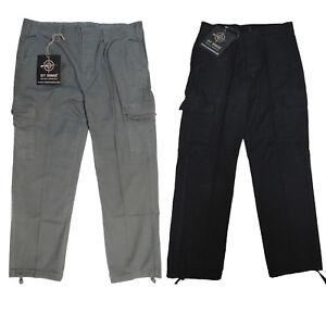 "German Army ""Stone Washed"" Bundeswehr Cargo Combat Moleskin Pants Trousers Hose"