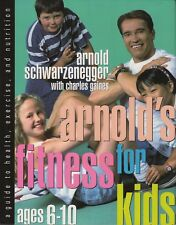"ARNOLD SCHWARZENEGGER SIGNED 1ST EDITION ""FITNESS FOR KIDS"" +AUTH JSA"