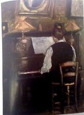 M. Gaston at the Piano (MINI PRINT) By Raoul Dufy