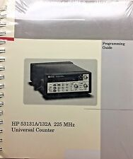 HP 53131A/132A 225MHz Universal Counter Programming Guide 53131-90044 *NEW*