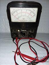 New Listingvintage Simpson 260 Series 6p Volt Ohm Milliammeter Read Description