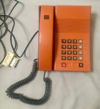 Téléphone DIGITEL 2000 de Mars 1982 Orange Vintage