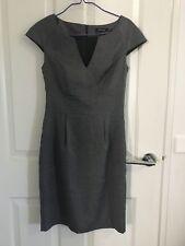 Portmans Black Peplum Dress Office Size 8