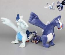 2X Pokemon Center Mega Lugia & Shadow Lugia Plush Toy Soft Doll 12'' Gift