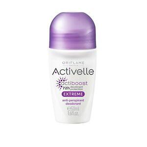 2×Oriflame  Activelle Extreme Protection 48H Anti-perspirant Deodorant, 50ml New