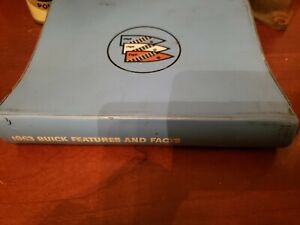 NOS RARE 1963 Buick Features and Facts' Salesman Album ALL MODELS