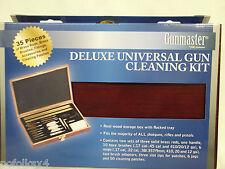 35 pc DAC Universal Gun Cleaning Kit IN Wooden Case