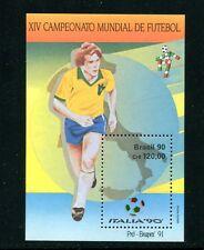 BRAZIL 2244, 1990 SOCCER CHAMPIONSHIPS, MNH, (BRZ018)
