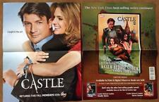 CASTLE DS Original Promo TV/Movie Poster SDCC 2013 MINT Comic Con Nathan Fillion