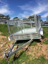 Tandem Trailer 12x6ft /1000 mesh cage Galvanized Brand New
