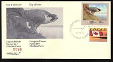 CANADA QUEBEC PROVINCE # QW6 WILDLIFE CONSERVATION 1993 FIRST DAY COVER