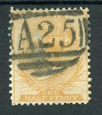 Malta 1863-81 ½d orange-buff SG8 used