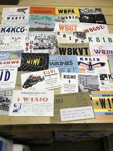 32  Q S L American, USA Amateur Radio Cards & Postcards Seen Joe Rohrer, Solomon
