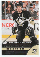2013-14 Score Hockey #589 Sidney Crosby Season Highlights Pittsburgh Penguins