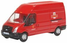 N scale Ford Transit Van- RM Red