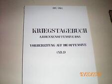 Literatur, Kriegstagebuch Nr.1 Ardennenoffensive 1944